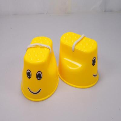 幼兒園感統訓練器材拓展活動團建體育用品小高蹺兒童游戲拓展訓練平衡戶外玩具