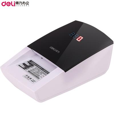 得力(deli)2119新版人民幣充電驗鈔機 便攜式驗鈔機 語音點鈔 USB升級