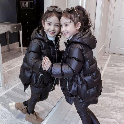 女童冬裝棉衣2019新款韓版外套小女孩洋氣棉襖兒童短款羽絨棉服冬 莎丞