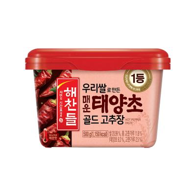 韓國希杰CJ好餐得石鍋拌飯醬韓式辣醬炒年糕甜辣醬辣椒醬下飯500g 太陽椒