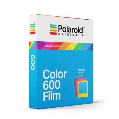 Polaroid Originals 寶麗來拍立得600/Onestep2 彩虹機系類一次成像相紙 彩色彩邊相紙