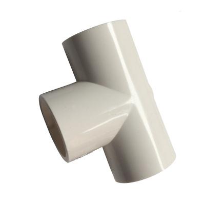 帮客材配 冰一点 中央空调专用排水接头 PVC三通(白色)规格:φ25 单价0.68元/个 起售数量50 150个免邮