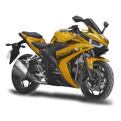 賽摩跑車兩輪全新可上牌國四電噴摩托車自然風冷單缸摩托R3地平線摩托車跑車200cc大型街車重機車公路賽趴賽