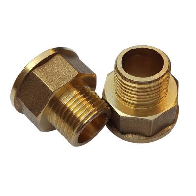 帮客材配 冰一点 全铜 铜变径直接 6内4外直接 满60个包邮