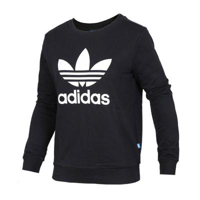 adidas 阿迪達斯 三葉草女士常規款休閑運動衛衣套頭衫 BP9490