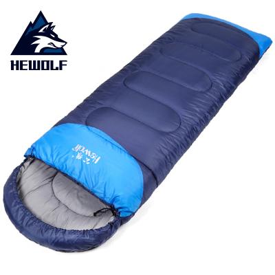 公狼(Hewolf)睡袋戶外四季露營成人加厚保暖信封式旅行午休睡袋