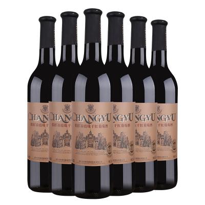 張裕優選級赤霞珠干紅葡萄酒750ml*6 整箱 張裕官方旗艦店 紅酒