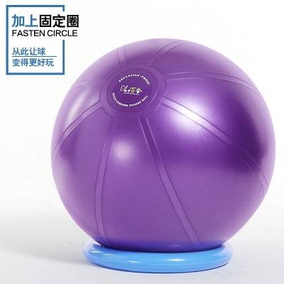 T級加厚防爆健身球瑜伽球大龍球體操訓練加厚紋路8件套送教學