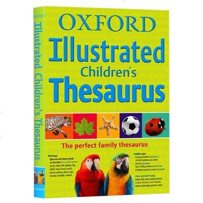 精裝牛津圖解兒童同義詞字典 英文原版工具書 Oxford Illustrated Children's Thesau