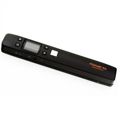 方正(FOUNDER)Z9 便携式扫描仪彩色WIFI无线手持便书刊扫描笔 黑色