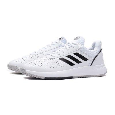阿迪達斯男鞋網球鞋2019新款網球COURTSMASH訓練比賽運動鞋F36718