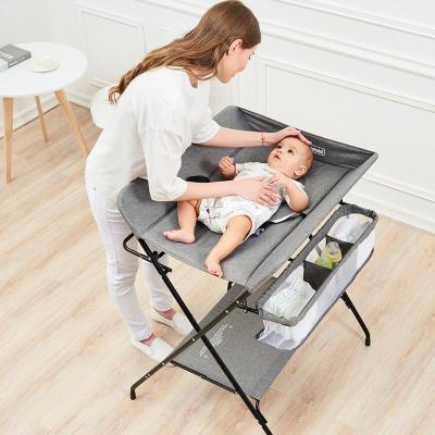 尿布台婴儿护理台儿宝宝换尿布台按摩抚触洗澡台多功能可折叠