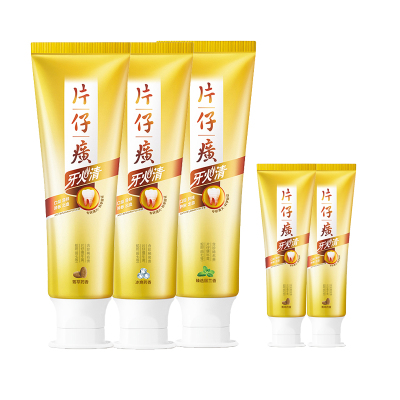 Pianzizhuang шүдний оо (Ceramic extract 75g+ Select spearmint 75g+75g+35g*2)