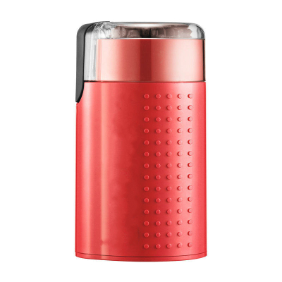 纳丽雅(Naliya)咖啡豆研磨机电动家用研磨器磨粉机手磨咖啡机磨豆机 红色