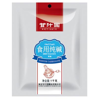 甘汁园 食用碱纯碱1KG包子馒头面包发酵粉家庭厨房调味品洗碗厨房去污去油碱面清洁
