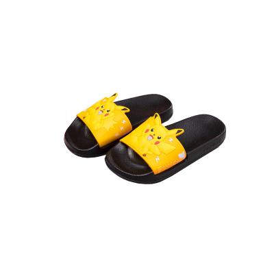 POKEMON皮卡丘親子鞋兒童拖鞋寶寶夏季涼拖鞋寶可夢拖鞋男童家居鞋女童鞋2015C-1