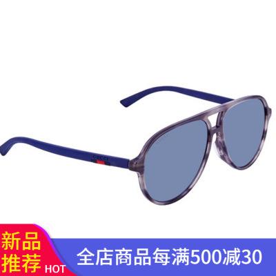 古馳(GUCCI)太陽鏡 墨鏡 灰色鏡片黑色鏡框 女士戶外眼鏡