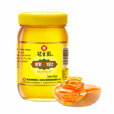 冠生园 蜂蜜 900g/瓶