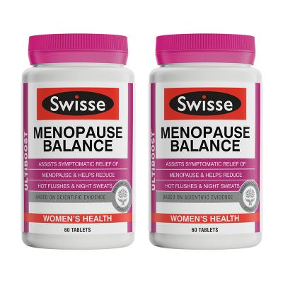 Swisse大豆異黃酮女性更年期片60粒*2瓶裝 200g