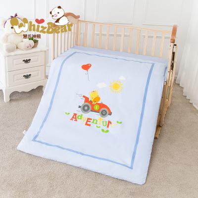 嬰兒被子2件套 純棉新生兒童棉被寶寶幼兒園蓋被可拆卸四季被