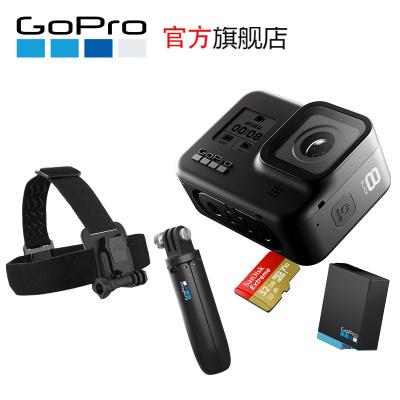 GoPro hero8運動相機水下潛水 4K戶外直播防水攝像機vlog HERO8 BLACK Special Bund