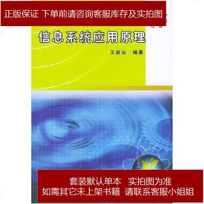 信息系统应用原理 王景光 编 机械工业出版社 9787111154891