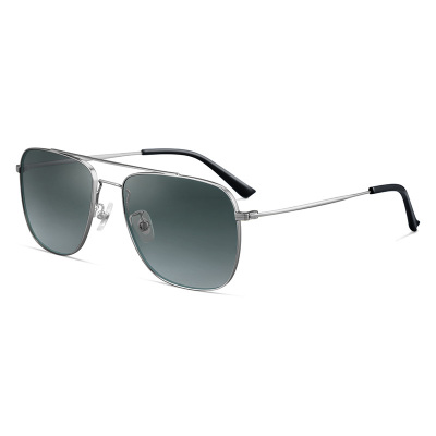 普萊斯(pulais)日夜兩用偏光變色太陽鏡男士駕駛專用高清墨鏡司機開車眼睛夜間眼鏡防遠光燈太陽眼鏡 7010 單鏡框