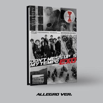 {現貨}EXO專輯 正規5輯 DON'T MESS UP MY TEMPO CD+海報+小票+禮物 Andante v
