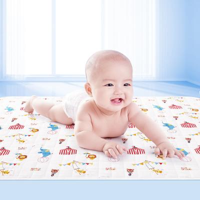 子初 婴儿柔棉隔尿垫防水双面可洗透气四季通用透气新生儿护理垫