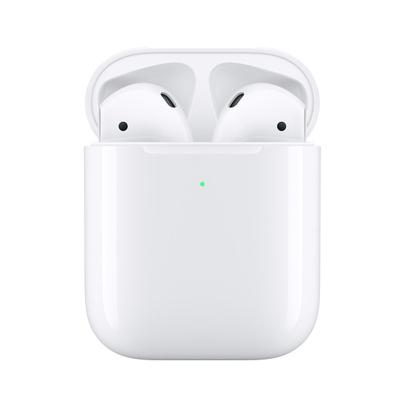 【高效便利】苹果Apple Airpods2 新款入耳式无线蓝牙耳机 配无线充电盒 港版 MRXJ2ZP/A
