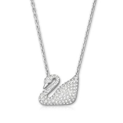 SWAROVSKI 施華洛世奇 Swan小天鵝人造水晶女士項鏈5007735