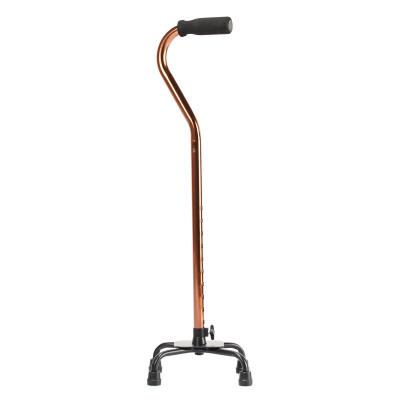 魚躍(yuwell)鋁合金四角手杖拐杖YU850 可伸縮防滑老人助行