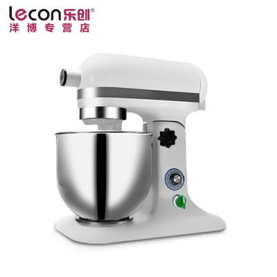 lecon/乐创洋博 商用和面机7升鲜奶机 全自动揉面机 打面机 搅拌机 打蛋器 奶油打发机
