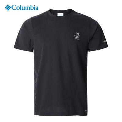 2020春夏哥倫比亞短袖T恤男裝戶外速干衣透氣吸濕排汗AE0411