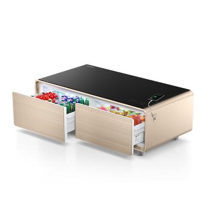 博倫博格(Blomberg) 酷咖(Cool-case) HS1302G 廳吧 智能茶幾 客廳冷藏小冰箱