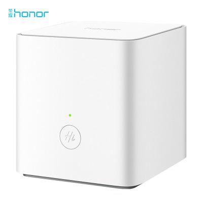 华为/荣耀(honor)路由X1增强版 白色 双频优选高速家用 盒子形态无线路由器 wifi穿墙 中小户型优选