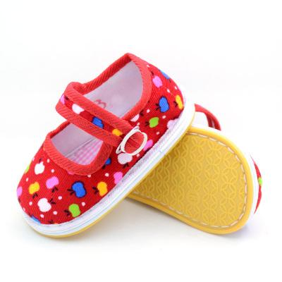 寶寶手工布鞋嬰兒千層底傳統布鞋透氣男女兒童童鞋軟底春秋季棉布單鞋織物 臻依緣