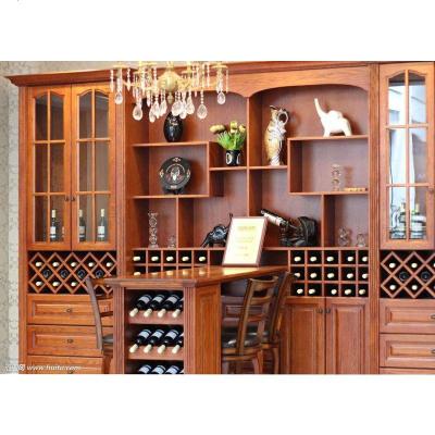 顾致露水河吧台家具多功能客厅餐边柜酒柜测量安装送货到木制定制实木