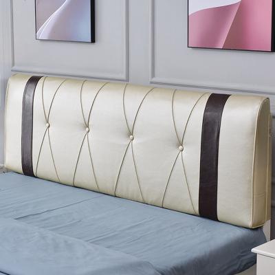 杞沐床頭板軟包套床頭套罩簡約現代皮革包床頭2019新款床頭套床頭罩