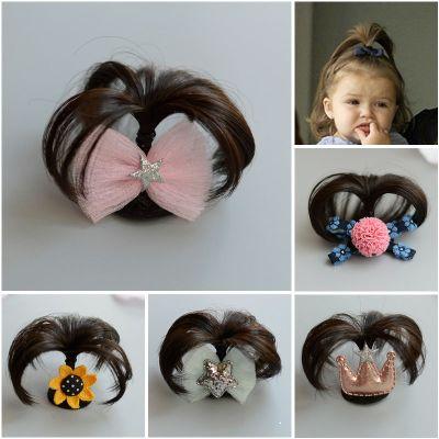 兒童發飾小童安全夾毛毛夾寶寶嬰兒汗毛夾發夾0-12個月假發頭飾