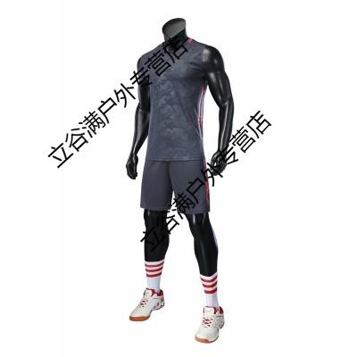 新款無袖排球服套裝男女款定制透氣排球衣訓練比賽隊服裝印號