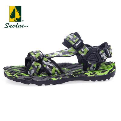 SEVLAE圣弗萊夏季戶外男式涼鞋透氣舒適耐磨輕便運動沙灘鞋9621915376