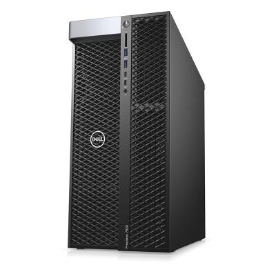 戴爾(DELL)Precision T7920圖形工作站主機GPU深度學習 1顆 銅牌3104 06核06線程 1.70GHz 8G內存/256G+1T/P620-2G