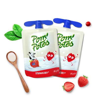 法优乐 儿童酸奶 法国原装进口 宝宝常温辅食酸酸乳 草莓味风味酸奶340g*4