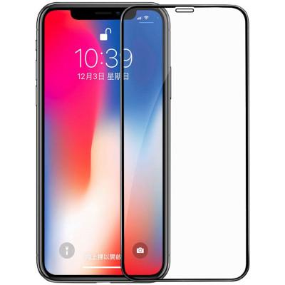 【送手機殼】輕萬蘋果xr鋼化膜iphone全屏黑色apple玻璃貼膜64g港版絲印128g
