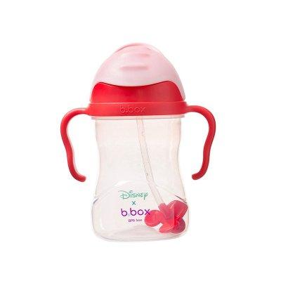 澳洲b.box第三代重力球寶寶水杯迪士尼吸管杯學飲杯兒童水杯嬰兒喝水杯子 米妮款