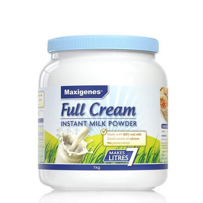 Maxigenes美可卓藍胖子全脂牛奶粉1kg/罐裝3歲以上中老年人學生上班族成人奶粉孕婦奶粉澳洲進口