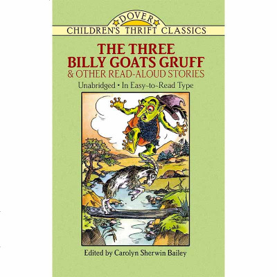 原版名著 儿童阅读 山羊三兄弟 The Three Billy Goats Gruff and Other Read