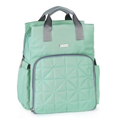 茵秀麗insular 媽咪包 時尚多功能大容量防水可機洗媽咪包雙肩背包母嬰外出包手提掛車母嬰待產包