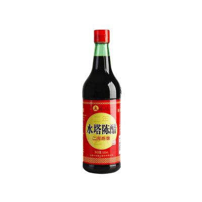 水塔二年陳醋500ml瓶裝山西特產食用調味醋